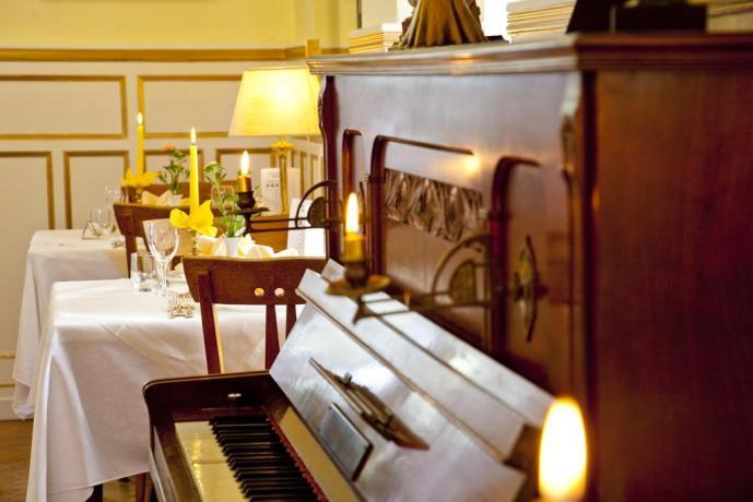 Cena romantica in Hotel Trentino