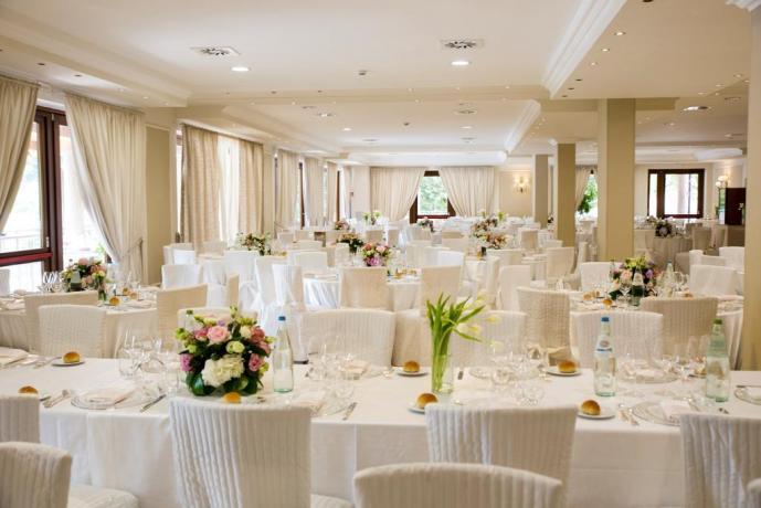 Sala Ristorante in Hotel a Cascia