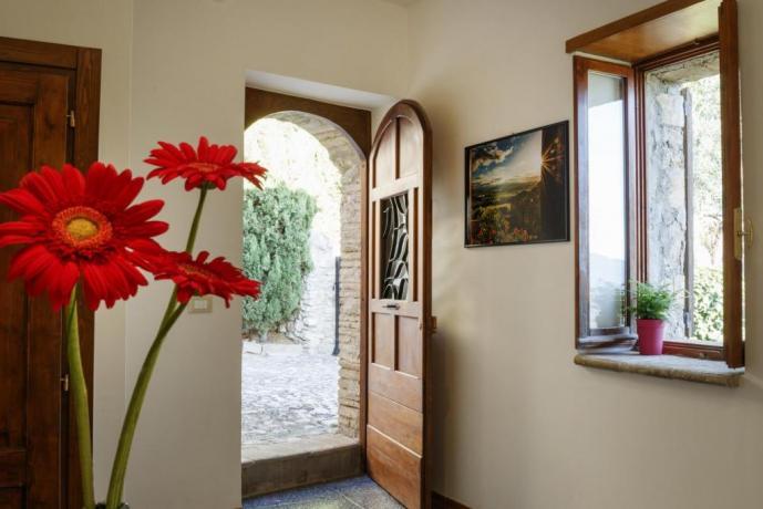 Appartamento-Clara Ingresso Indipendente per 2 Borgo-sul-Clitunno