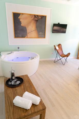 Fuga Romantica in Suite in centro a Perugia