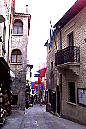 Shopping mania in San Marino