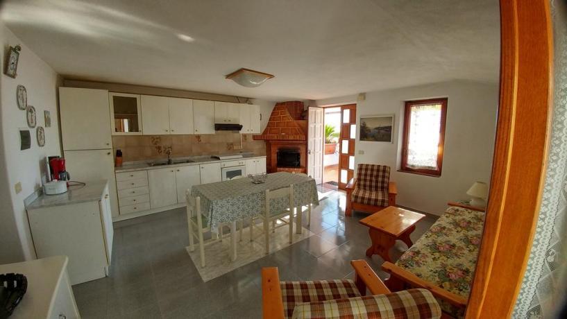 Appartamento con camino casa vacanze Barano d'Ischia