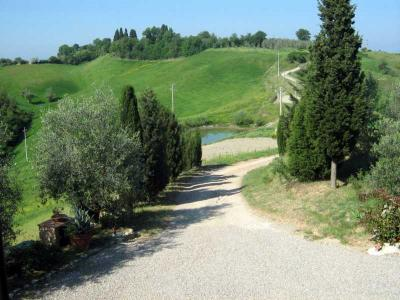 Ampio parco verde, Agriturismo Asciano