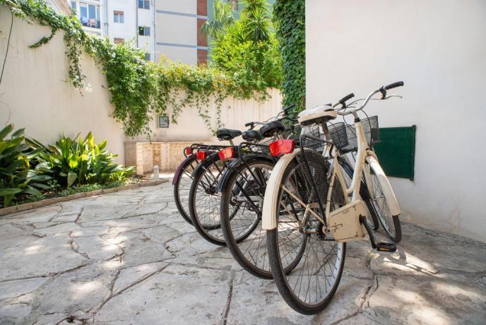 Noleggio Biciclette per centro di Lecce