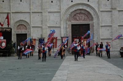 Medieval feast in Umbria