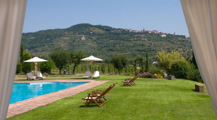 Luxury Villa a Cortona - Vista panoramica