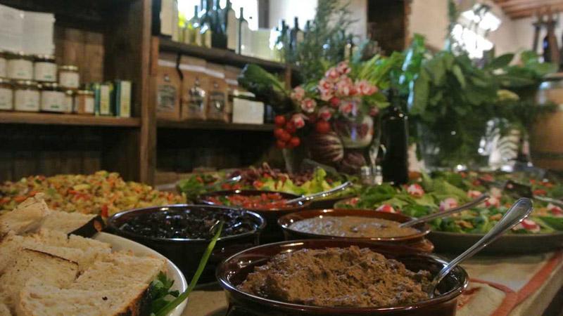 Ristorante bio, Toscana, Vacanza in camere e appartamenti