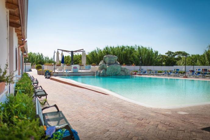 Villaggio Paestum con Parco Giochi per Bambini