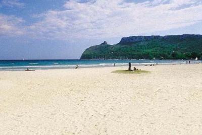 the poetto-beach in cagliari