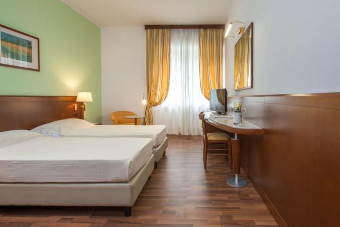 Hotel Riviera dei Cedri, camera doppia letti singoli