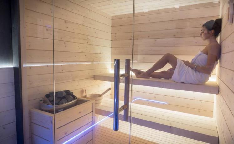 Sauna Finlandese esclusiva per la Coppia