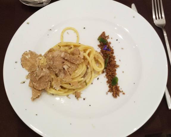 Ristorante esclusivo menu Gourmet in Umbria