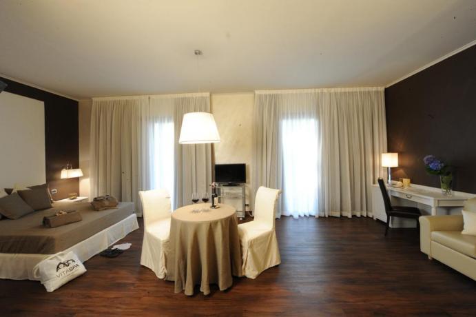 Suite elegante hotel viterbo spa e terme