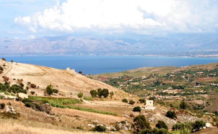 Panorama di Castellammare dal B&B per famiglie