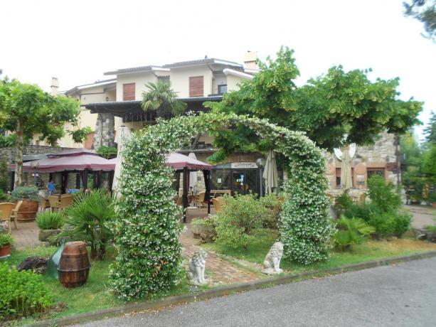 A Chiusi hotel con giardino