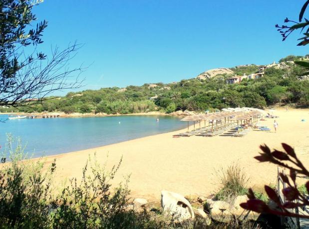Albergo con spiaggia privata vicino Porto Cervo
