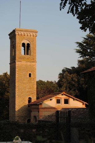 Villa con torre vicino Perugia