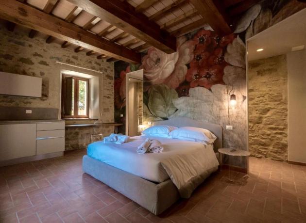 Camera Romantica in Agriturismo tra Perugia-Gubbio