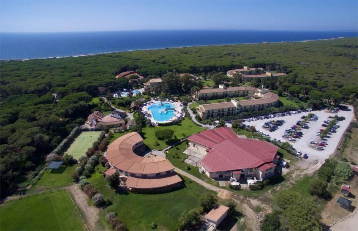 Panorama del Resort Paradiso al Golfo di Orstano