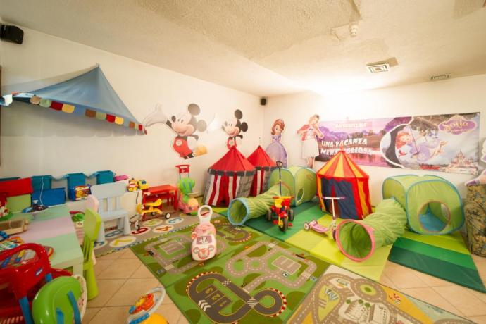 Giochi per bambini villa vacanze Bardonecchia vicino piste-scii