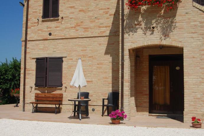 Appartamenti-vacanze ad Appignano con giardino Macerata