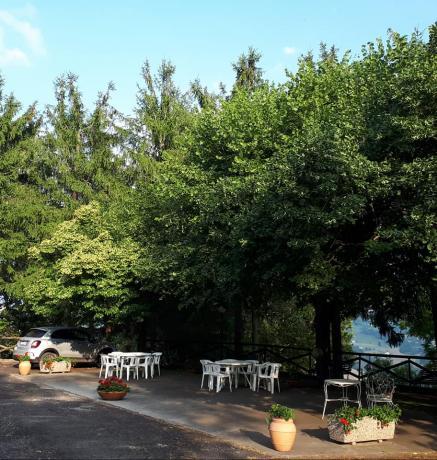 Giardino in Villa Vacanze Marche vicino al Mare