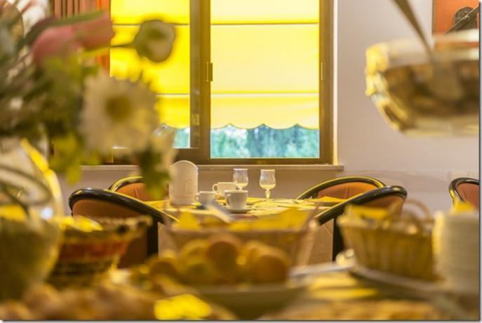 Colazione a buffet Hotel 3 stelle Lago Trasimeno