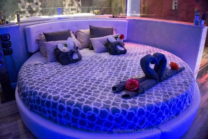 Suite con letto king size e idromassaggio