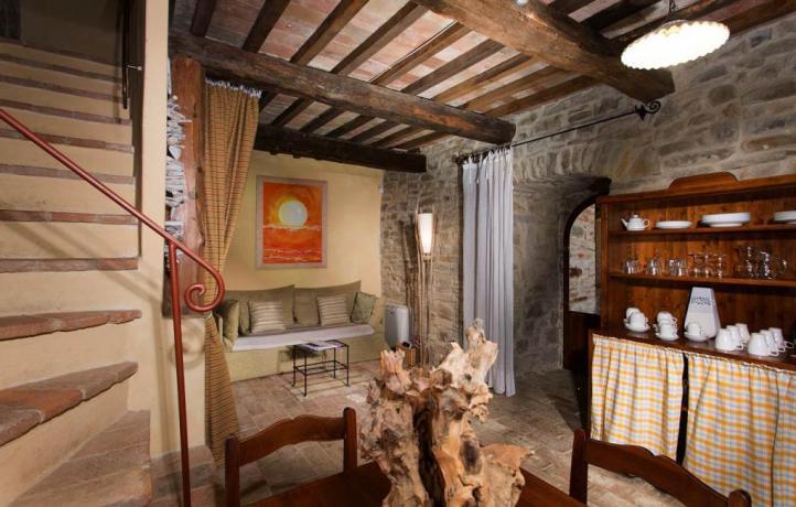 Relais Umbria con soggiorno in appartamento