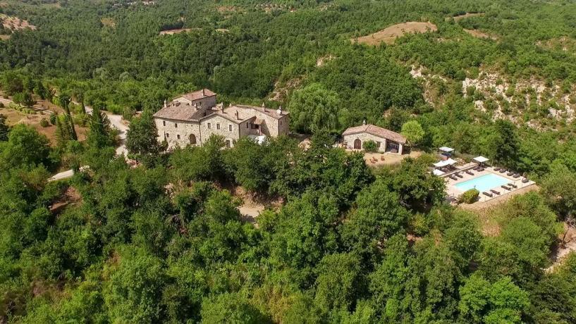Relais vicino Perugia e Gubbio