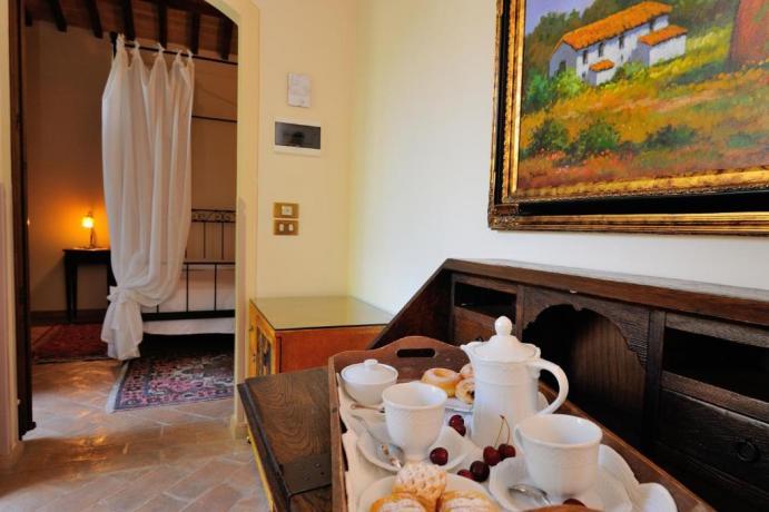 Junior Suite con letto Baldacchino