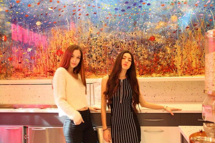 Ospiti dell'hotel L'Artistico a Milano