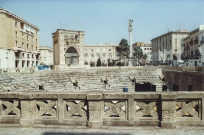 The antic center of Lecce