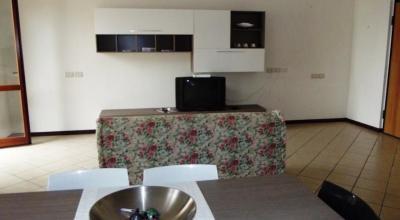 Soggiorno con TV Appartamento sul Trasimeno