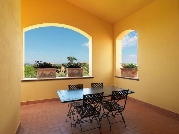 Villa con terrazza Panoramica in Umbria