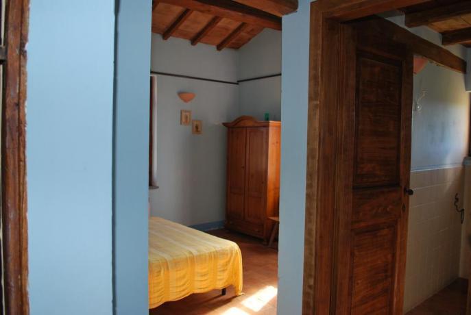 Camere Matrimoniali in Agriturismo vicino Perugia