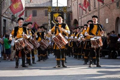 Tamburini del corteo storico