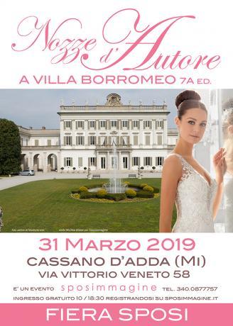 Nozze d'Autore a Villa Borromeo 2019 - 7a edizione della fiera per gli sposi
