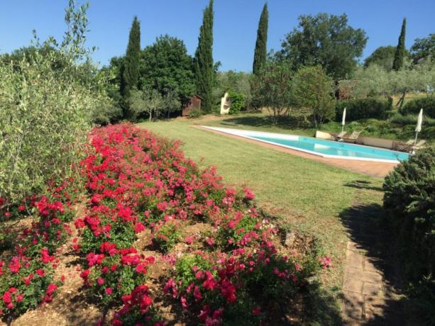 Agriturismo Umbro con piscina e vista panoramica