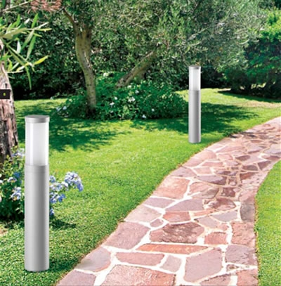 Lampade a Risparmio energetico in giardino Illuminazione Giardino ...