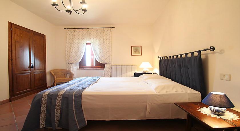 Camera appartamento blu dettaglio