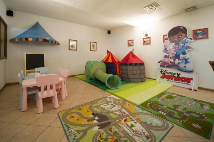 Casa vacanze Bardonecchia con area giochi bambini
