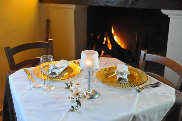 Cena romantica a lume di candela Residence Piediluco