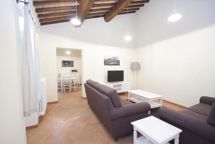 Soggiorno appartamento resort vicino Nocera Umbra