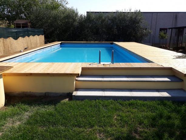 Romantico loft con piscina esterna vicino Perugia