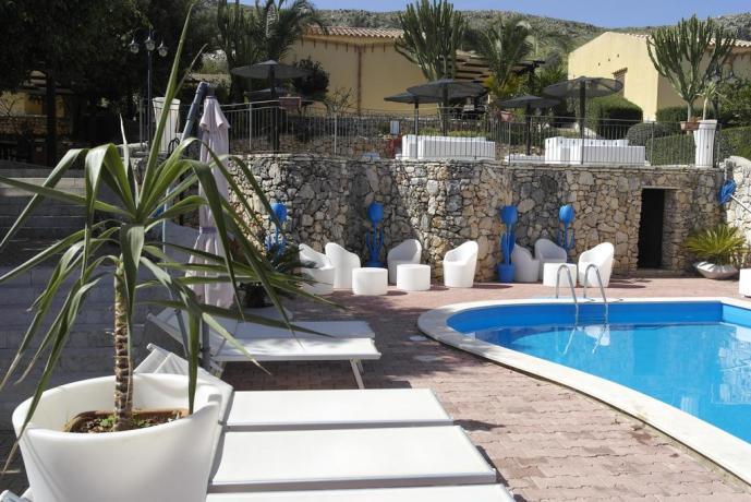 Resort Castellammare del Golfo con piscina