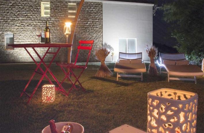 Giardino Romantico per cene a lume di candela