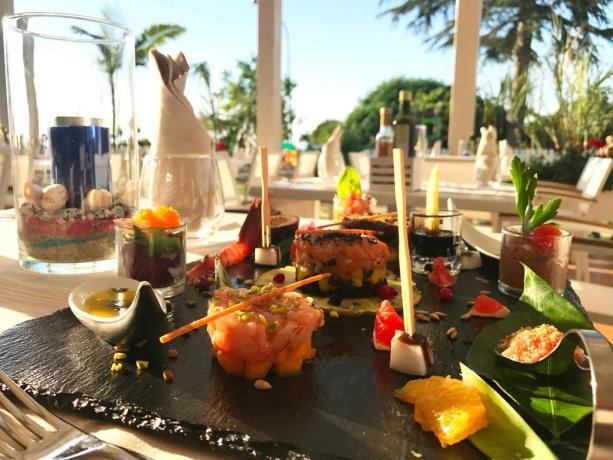 Cucina di qualità e raffinata Hotel a Tropea