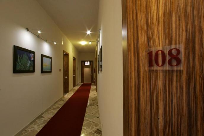 Camere familiari hotel 3 stelle a Trapani