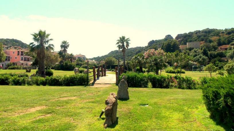 Residence con grande giardino in Costa Smeralda